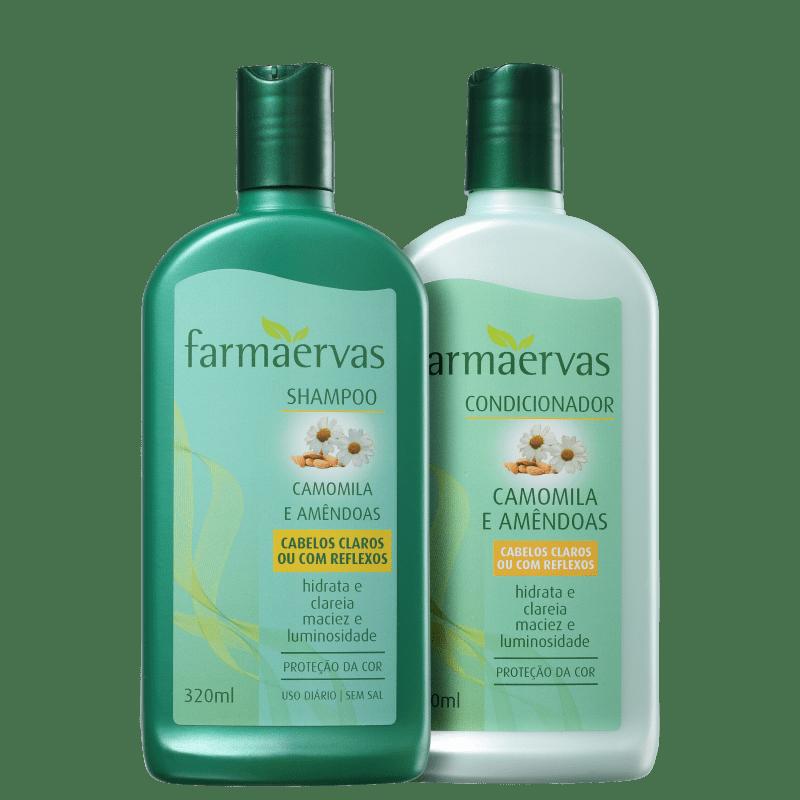 Kit Farmaervas Camomila e Amêndoas Duo (2 Produtos)