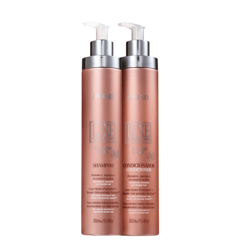 Kit Amend Luxe Creations Blonde Care Duo (2 Produtos)