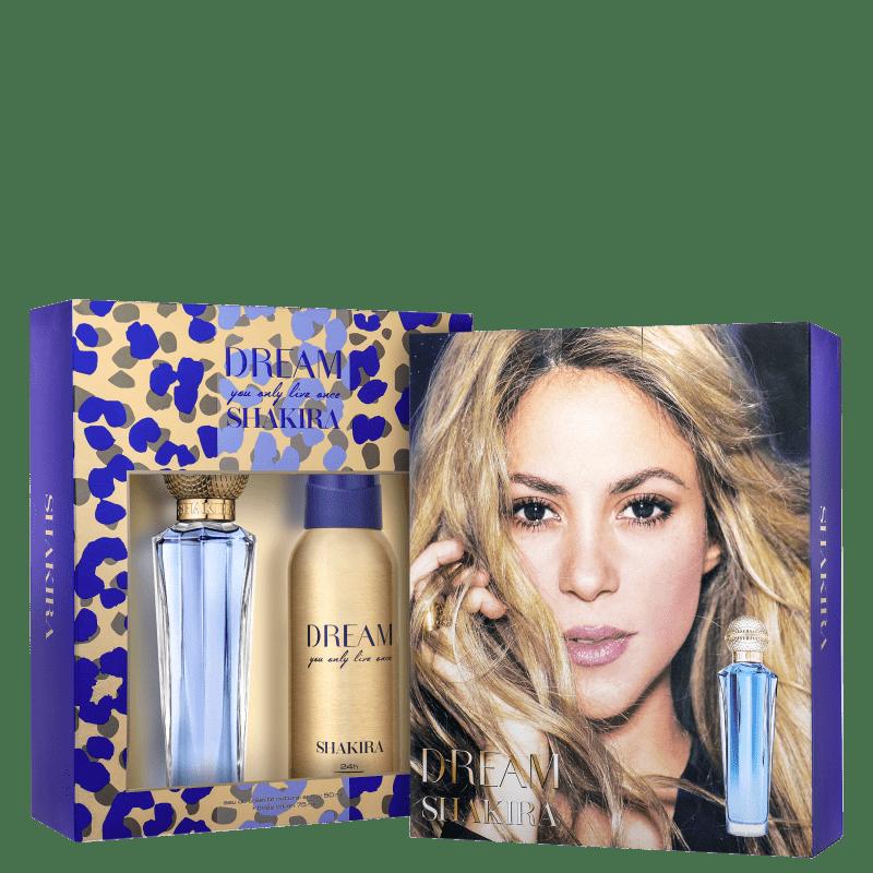 Conjunto Dream Shakira Feminino - Eau de Toilette 80ml + Desodorante 150ml