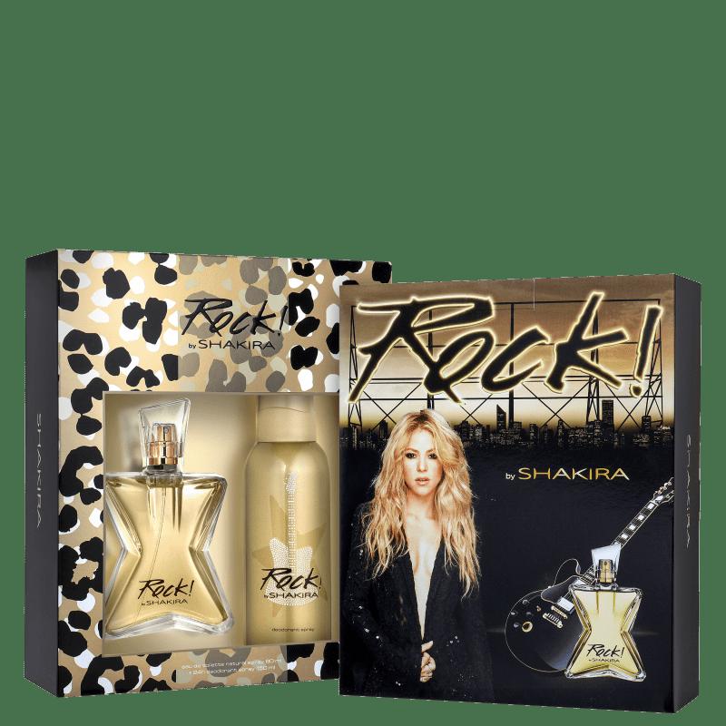Conjunto Rock! Shakira Feminino - Eau de Toilette 80ml + Desodorante 150ml