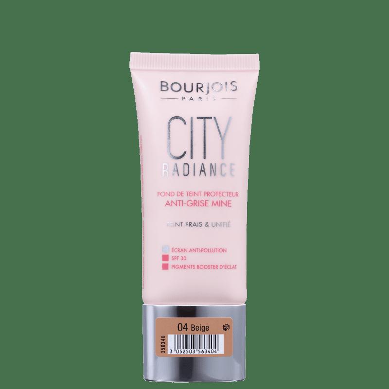 Bourjois City Radiance 04 Bege FPS 30 - Base Cremosa 30ml