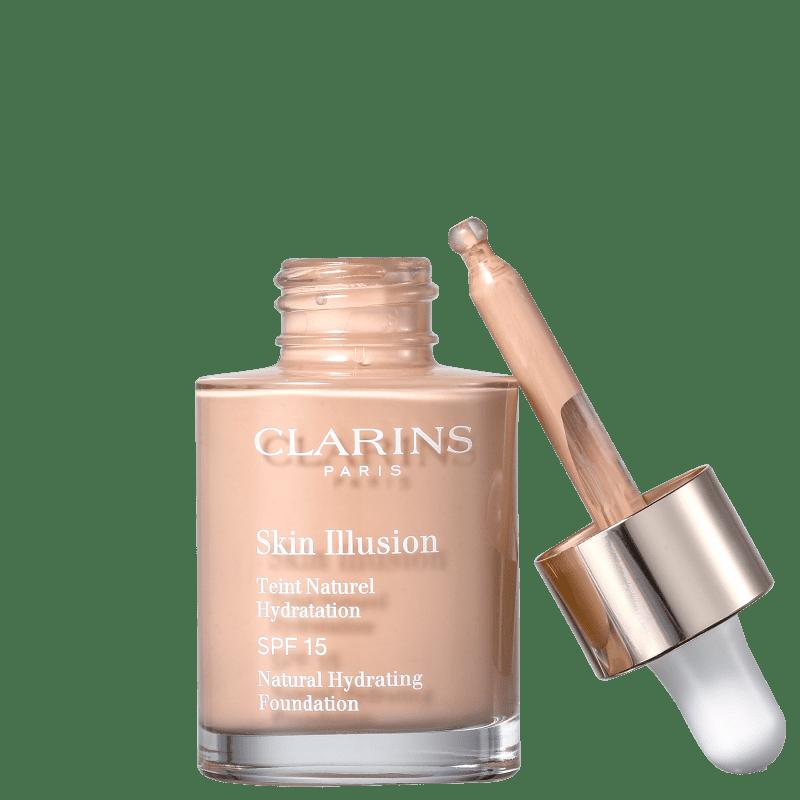 Clarins Skin Illusion 107 Beige - Base Líquida 30ml