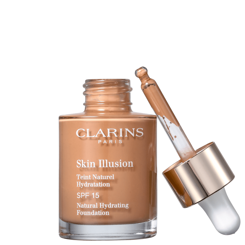 Clarins Skin Illusion 113 Chestnut - Base Líquida 30ml