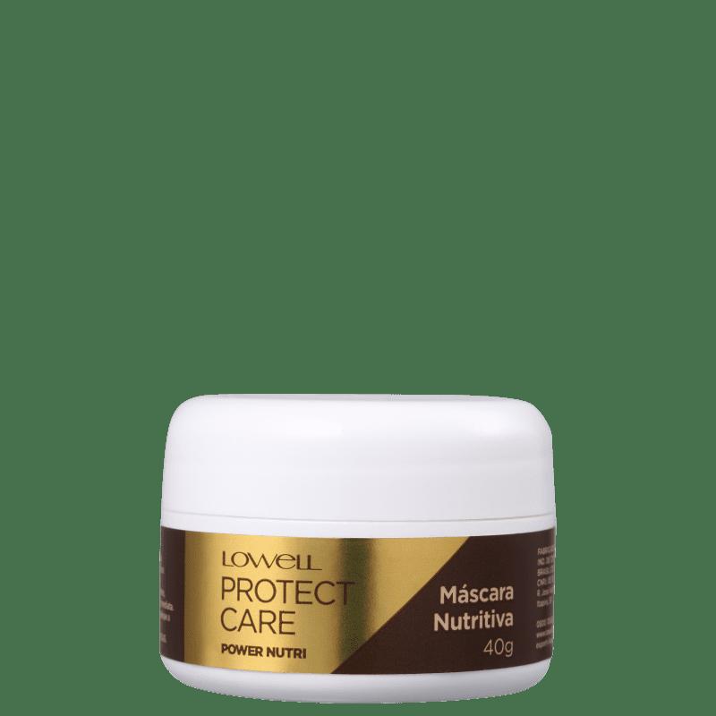 Lowell Protect Care Power Nutri - Máscara Capilar 40g