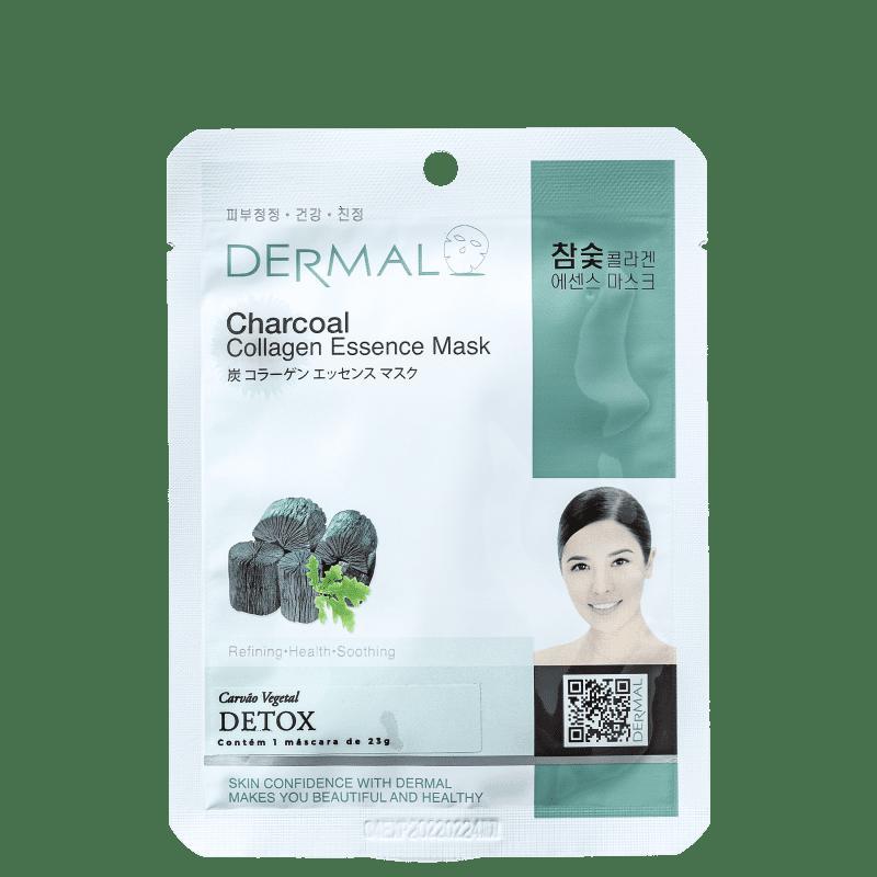 Dermal Charcoal - Máscara de Limpeza Facial 23g