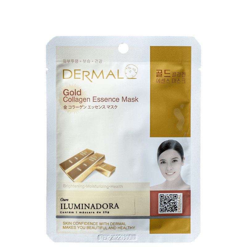 Dermal Gold - Máscara Iluminadora 23g