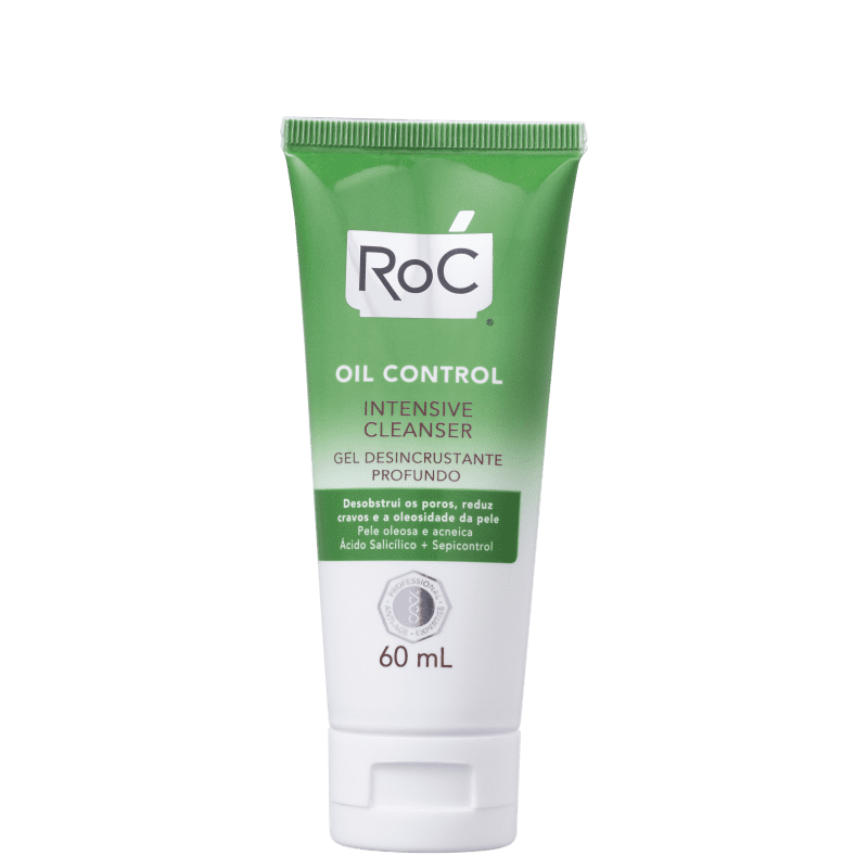 RoC Oil Control Intensive Cleanser - Gel de Limpeza Facial 60ml
