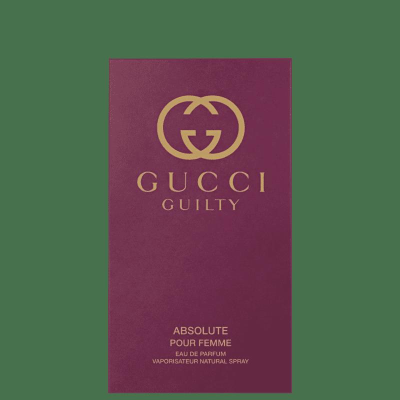 25b41e3c3 Gucci Guilty Absolute Pour Femme Gucci Eau de Parfum - Perfume Feminino 30ml