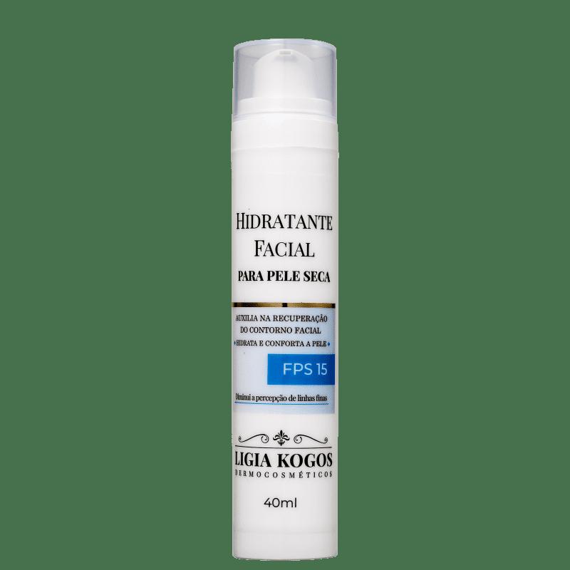 Ligia Kogos Pele Seca FPS 15 - Hidratante Facial 40ml