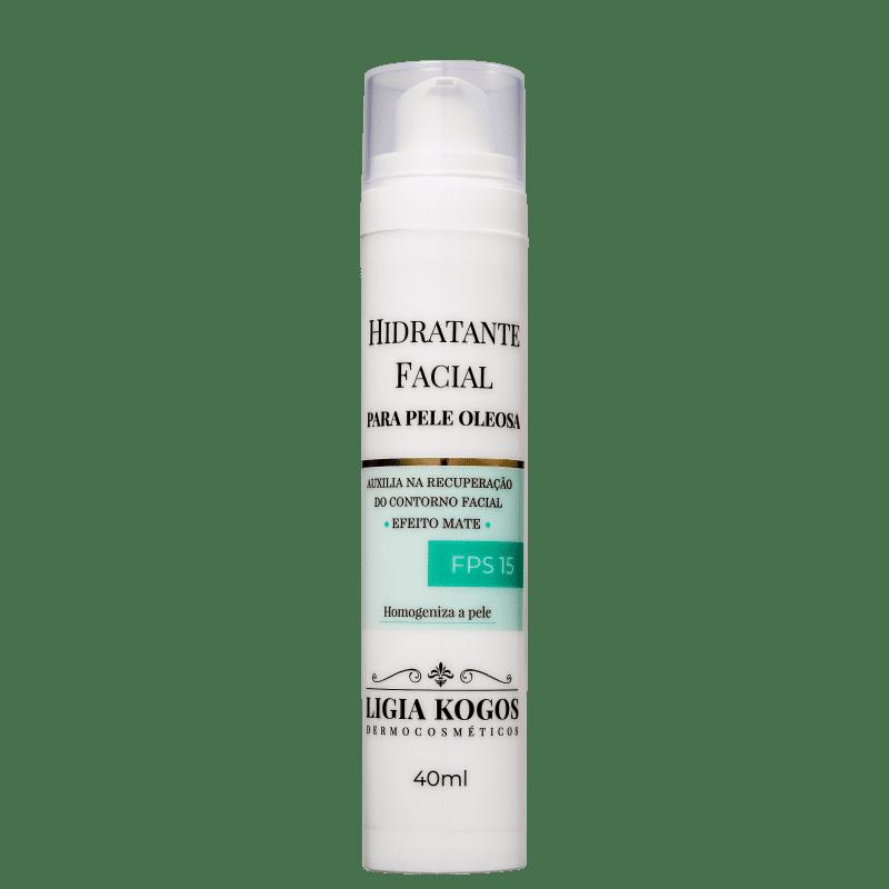 Ligia Kogos Pele Oleosa FPS 15 - Hidratante Facial 40ml