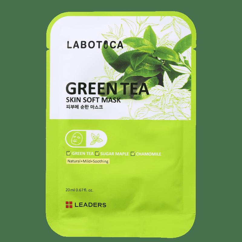 Kollab Leaders Labotica Skin Soft Green Tea - Máscara Facial 20ml
