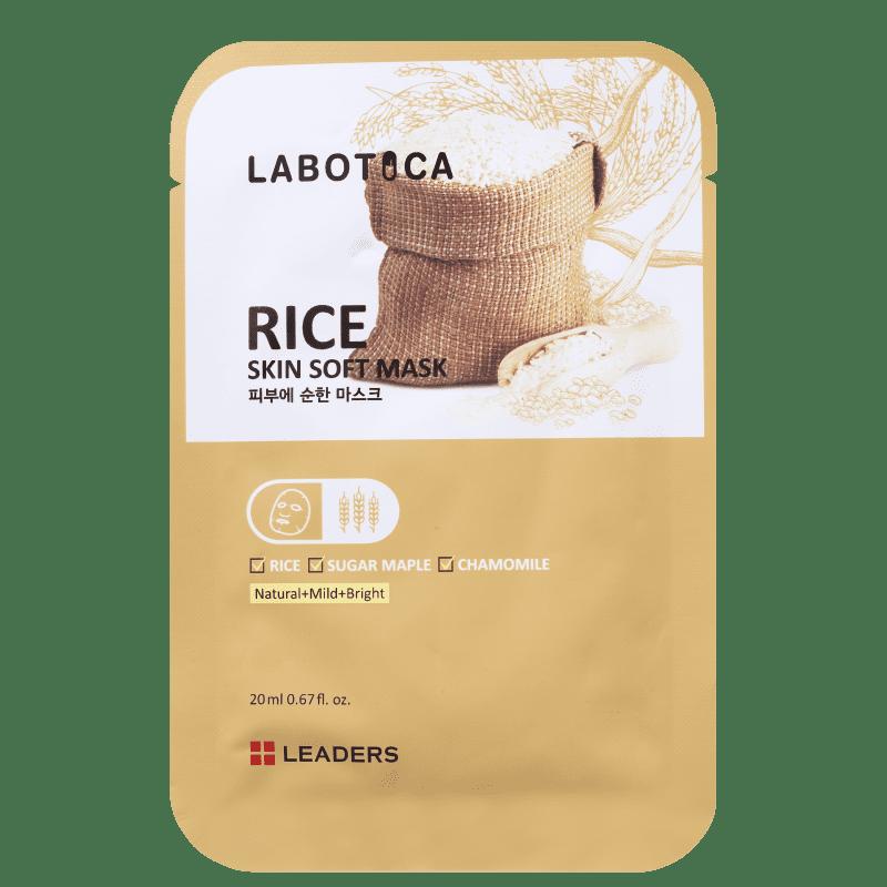 Kollab Leaders Labotica Skin Soft Rice - Máscara Facial 20ml