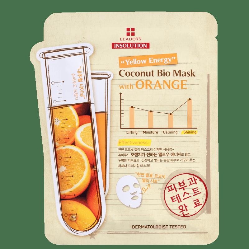 Kollab Leaders Coconut Bio with Orange - Máscara Facial 30ml
