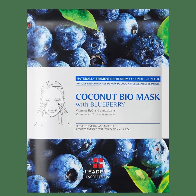 Kollab Leaders Coconut Bio with Blueberry - Máscara Facial 30ml