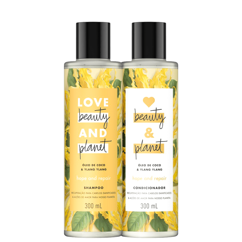 Kit Love, Beauty and Planet - Shampoo + Condiciondor Hope and Repaire