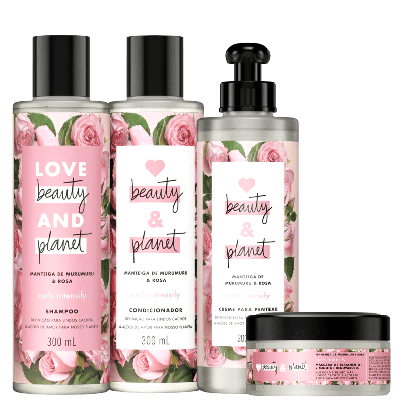 Kit Love Beauty and Planet Curls Intensify Full (4 Produtos)