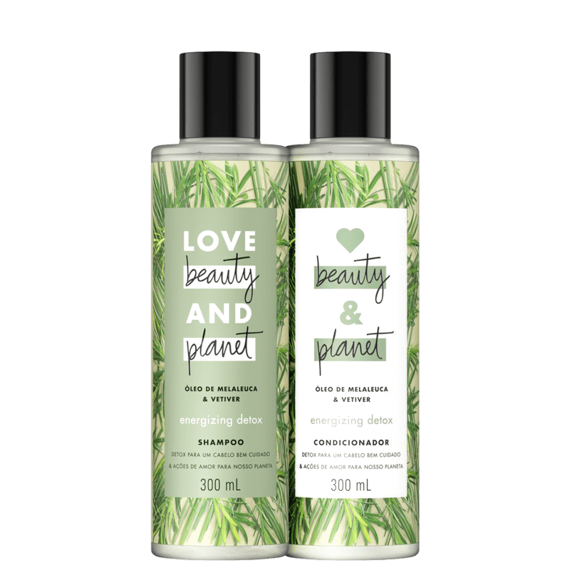 Kit Love Beauty and Planet Energizing Detox Duo (2 Produtos)