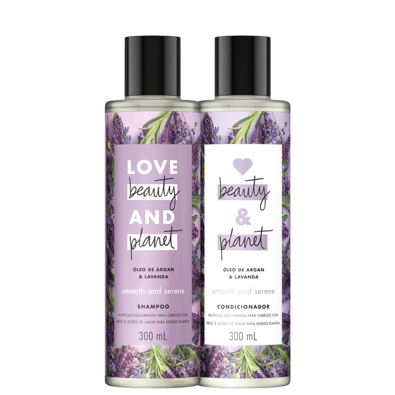 Kit Love Beauty and Planet Smooth & Serene Duo (2 Produtos)