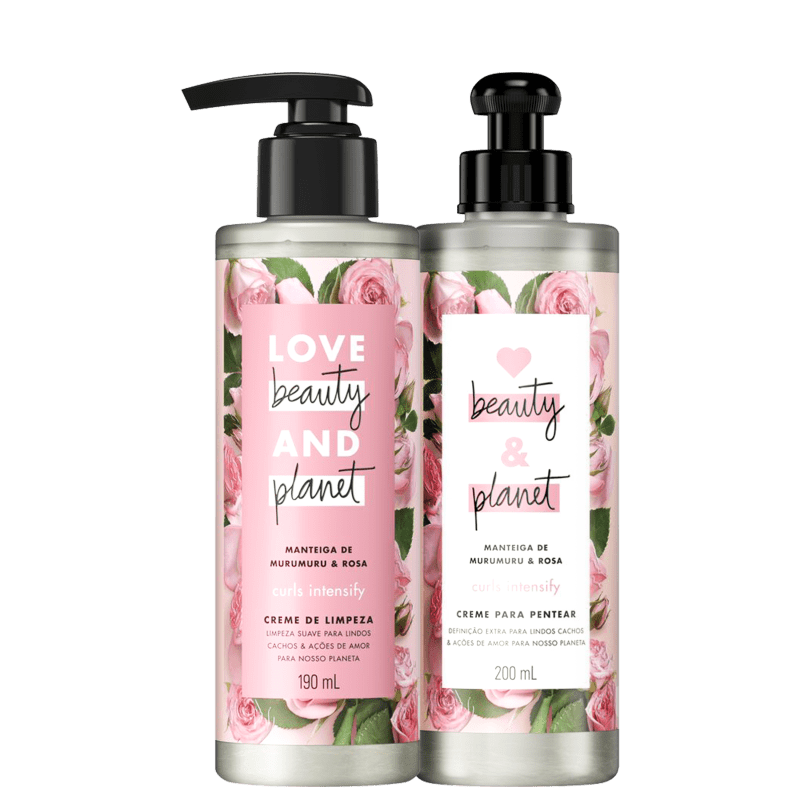 Kit Love Beauty and Planet Curls Intensify Co-Wash (2 Produtos)