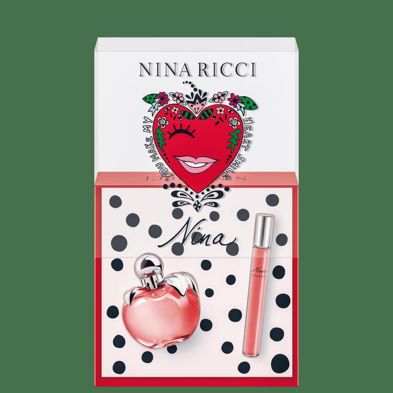Conjunto Nina Nina Ricci Feminino - Eau de Toilette 50ml + Roll On 10ml