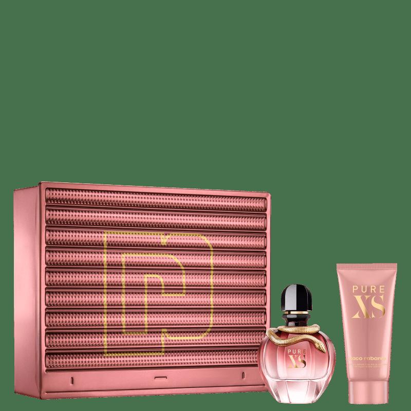 Conjunto Pure Xs For Her Body Paco Rabanne Feminino - Eau de Parfum 80ml + Loção Corporal 100ml