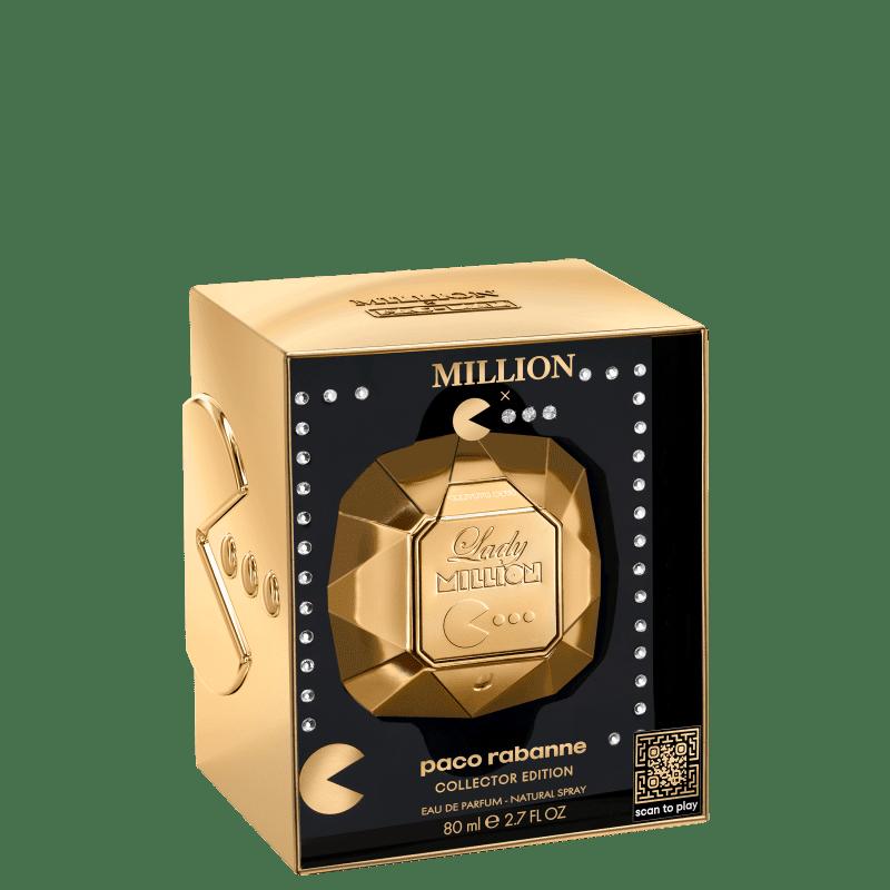 Lady Million Pacman Limited Edition Paco Rabanne Eau de Parfum - Perfume Feminino 80ml