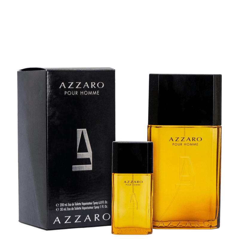 Conjunto Azzaro Pour Homme Dueto Masculino - Eau de Toilette 200ml + Eau de Toilette 30ml