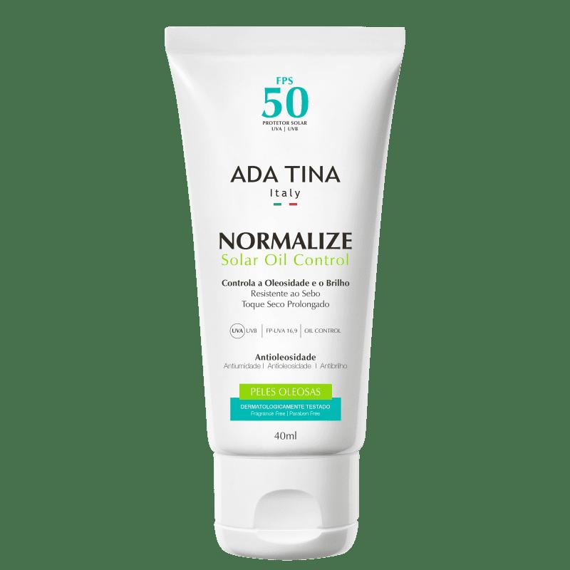 Ada Tina Normalize Solar Oil Control FPS 50 - Protetor Solar 40ml