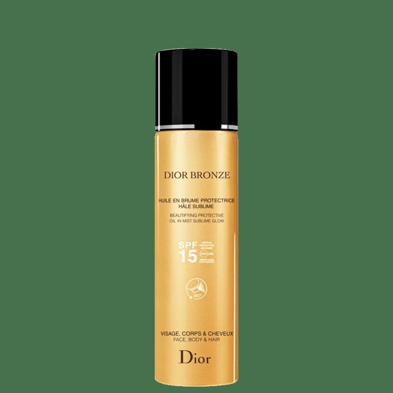 Dior Bronze Beautifying Oil In Mist Sublime Glow FPS15 - Protetor Solar em Spray 125ml