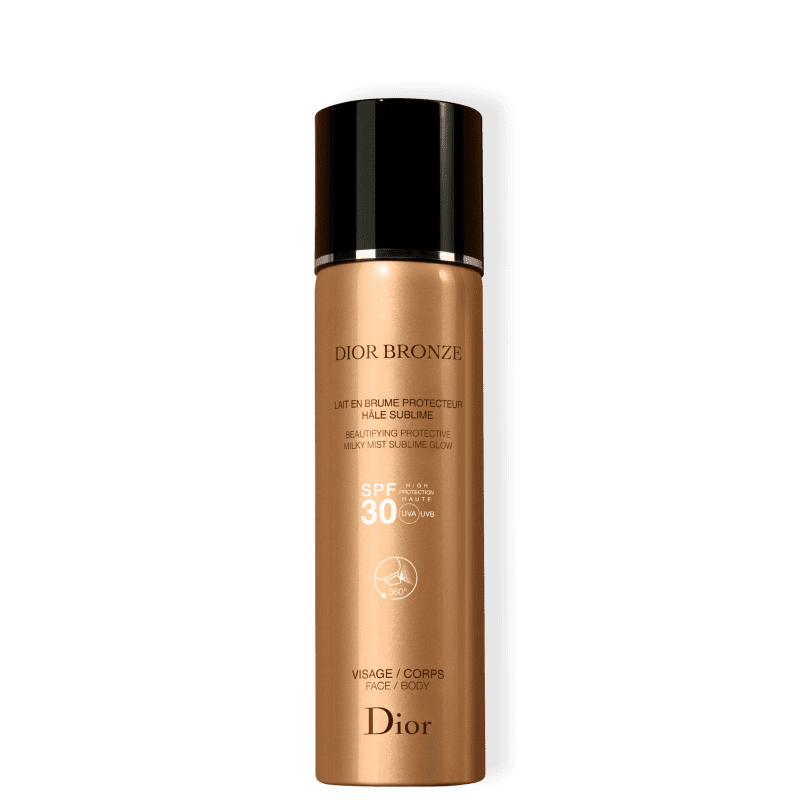 Dior Bronze Beautifying Milk Mist Sublime Glow FPS 30 - Protetor Solar em Spray 125ml