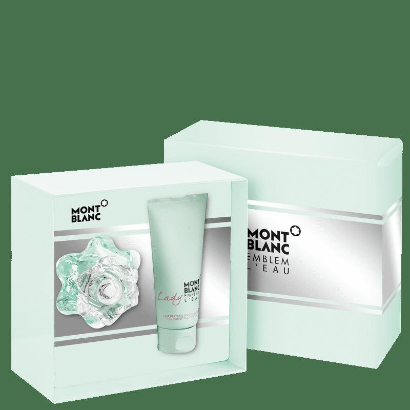 Kit Perfume Lady Emblem Feminino L'Eau Eau de Toilette 50ml + Body Lotion 100ml