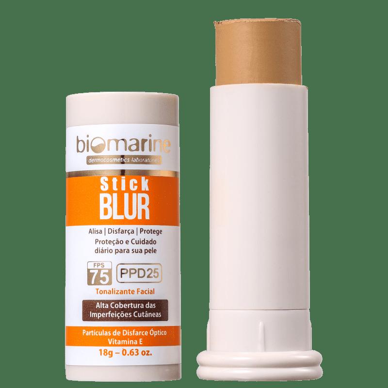 Biomarine Stick Blur FPS 75 PPD 25 Natural - Base em Bastão 18g