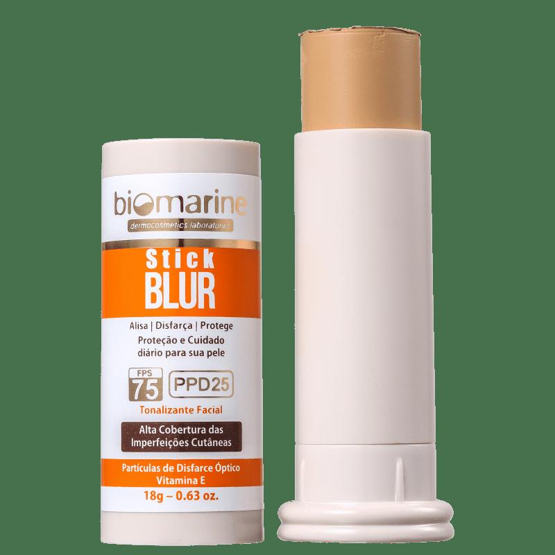 Biomarine Stick Blur FPS 75 PPD 25 Bronze - Base em Bastão 18g
