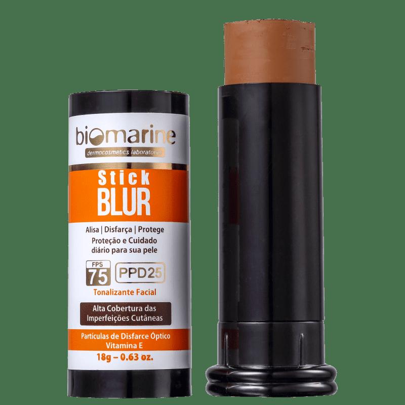 Biomarine Stick Blur FPS 75 PPD 25 Chocolate - Base em Bastão 18g