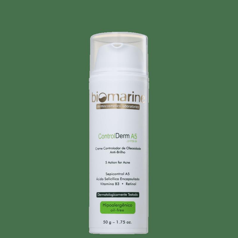 Biomarine Control Derm A5 Controlador de Oleosidade - Creme Hidratante Facial 50ml