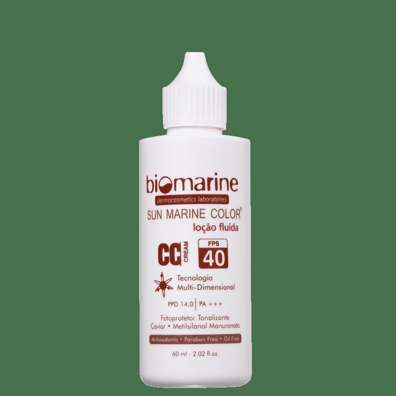 Biomarine Sun Marine Color FPS 40 Natural - CC Cream 60g