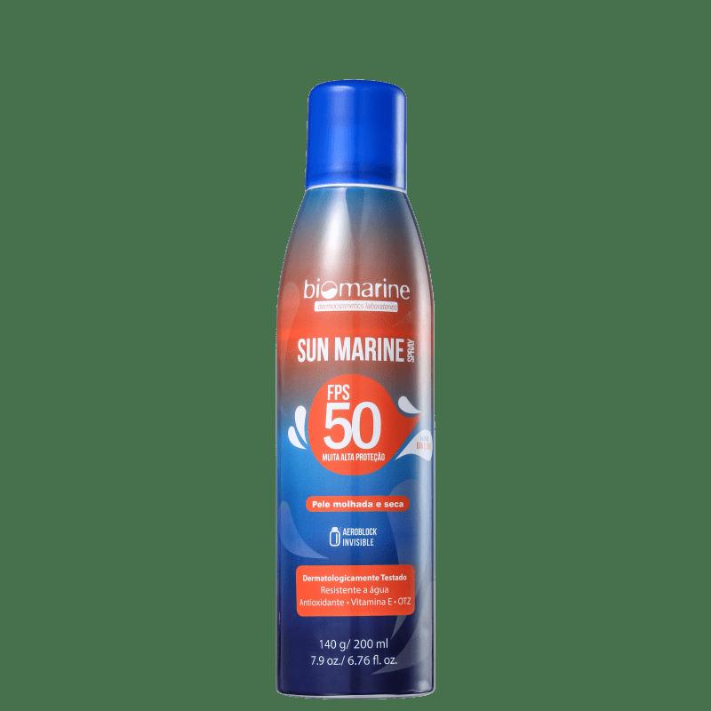Biomarine Sun Marine FPS 50 - Protetor Solar em Spray 200ml