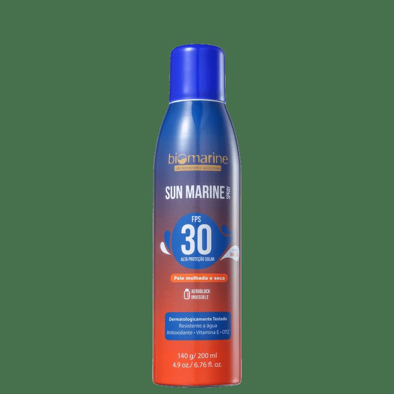 Biomarine Sun Marine FPS 30 - Protetor Solar em Spray 200ml