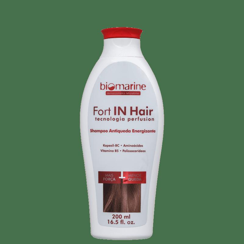 Biomarine Fort In Hair Energizante - Shampoo Antiqueda 200ml