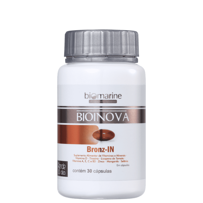 Biomarine Bioinova Bronz-IN - Autobronzeador (30 Cápsulas)