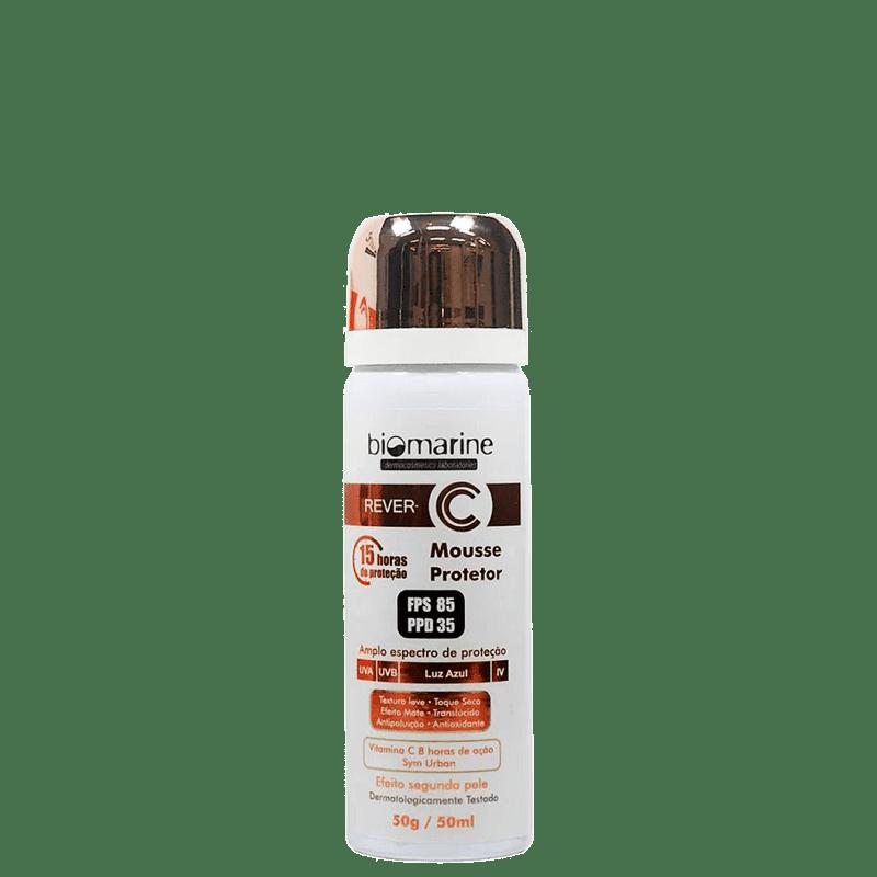 Biomarine Rever C Mousse FPS 85 PPD 35 - Protetor Solar Facial 50ml