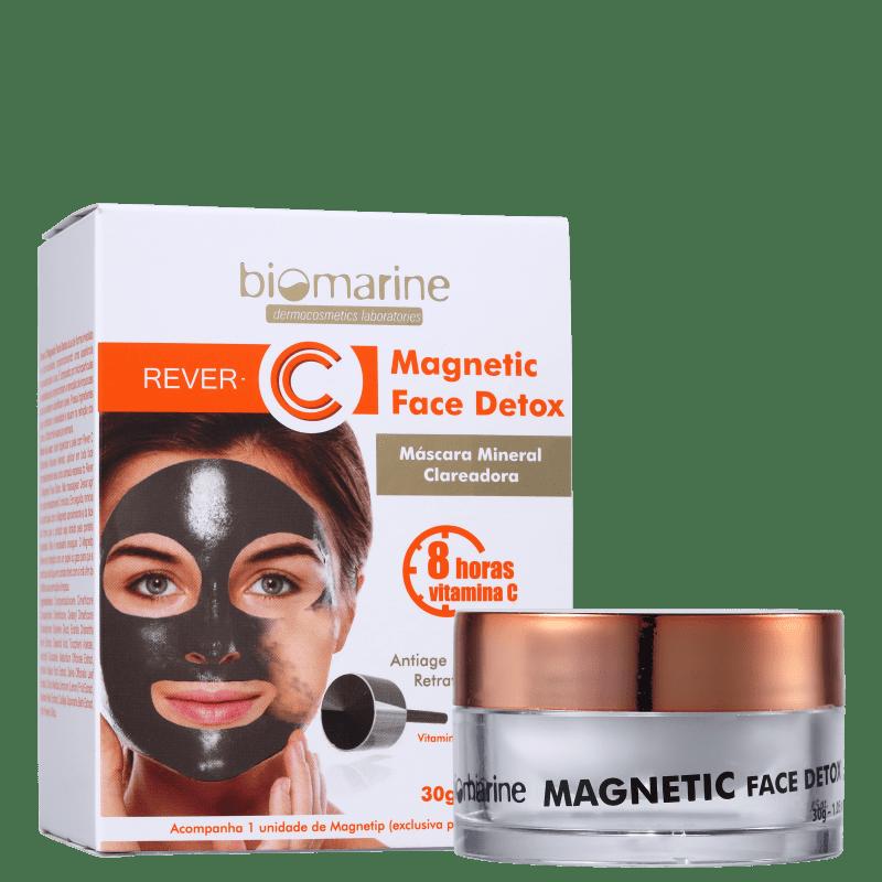 Biomarine Rever C Magnetic Face Detox - Máscara Clareadora 30g