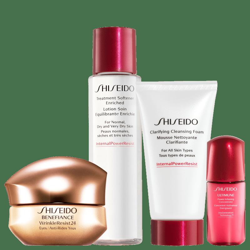 Kit Shiseido Benefiance (4 Produtos)