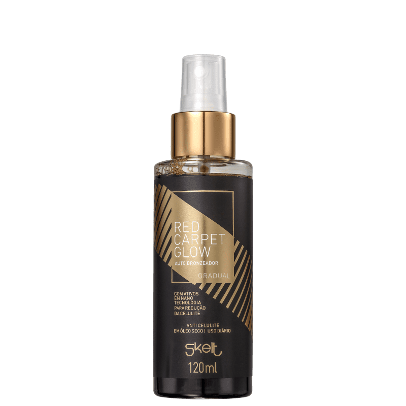 Skelt Red Carpet Glow Gradual - Spray Autobronzeador Corporal 120ml