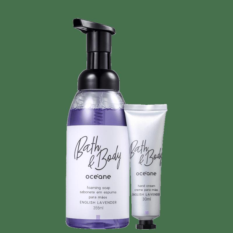 Kit Océane Bath & Body English Lavender Hand (2 Produtos)