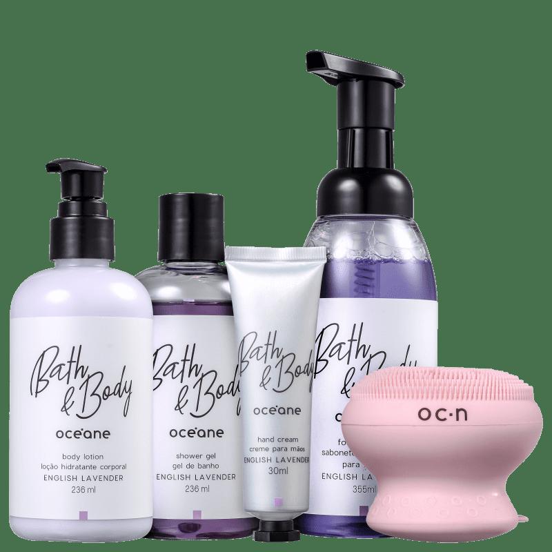 Kit Océane Bath & Body English Lavender (5 Produtos)