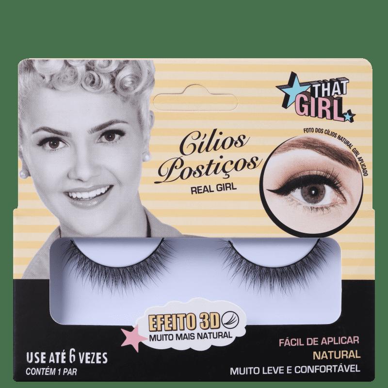 That Girl Real Girl 3D - Cílios Postiços 20g