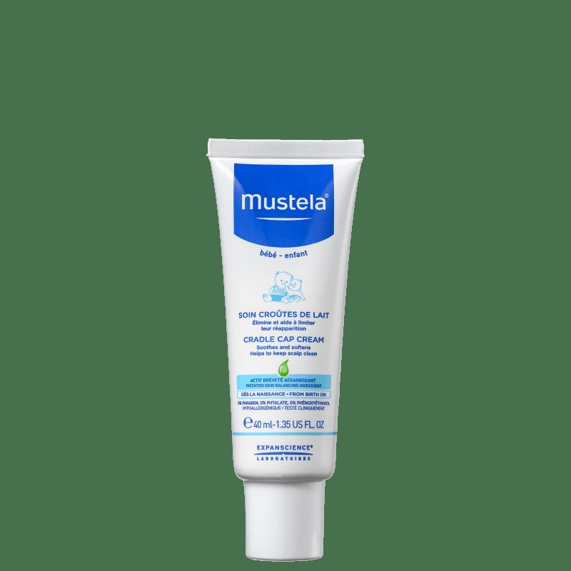 Mustela Bébé Stelaker Crosta Láctea - Creme Infantil 40ml