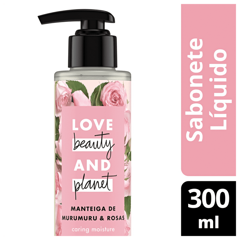 Love Beauty and Planet Caring Moisture - Sabonete Líquido 300ml