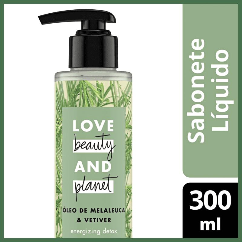 Love Beauty and Planet Energizing Detox - Sabonete Líquido 300ml